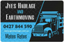 Jyes Haulage and Earthmoving Newcastle Hunter Valley